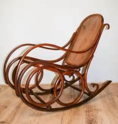 thonet bentwood rocking chair  antiques atlas