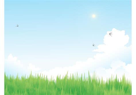 spring vector meadow   vector art stock