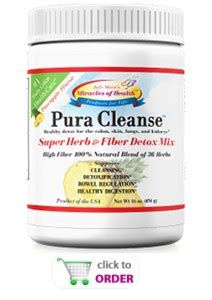 Detox Fast Cleanse 212 by Pura Cleanse Miracles Of Health