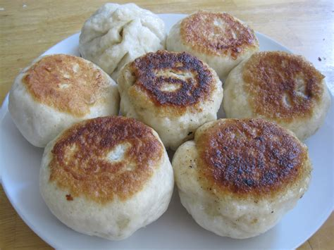 bun recipe pan fried steamed buns recipe cooking with alison