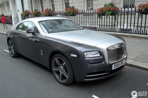 Rolls Royce Wraith 22 August 2015 Autogespot