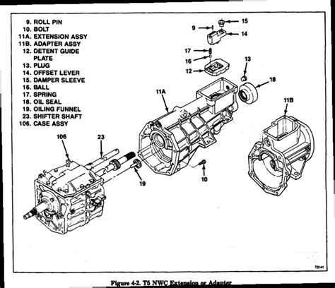 how to install a camaro t 5 the 1947 present chevrolet