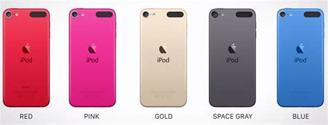 image gallery ipod 6th generation colors