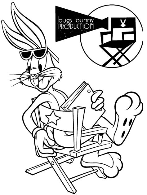 coloring pages of bugs bunny and tweety bugs bunny coloring page looney tunes spot coloring pages