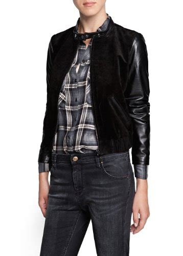 Comby Leather Jacket s outerwears s outerwears
