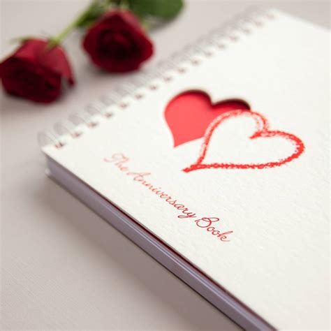 Wedding Anniversary Memory Book by 1st To 50th Wedding Anniversary Memory Book By Two
