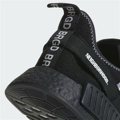 Adidas Nmd R1 Neighborhood Black White neighborhood adidas nmd black boost da8835 sneaker bar