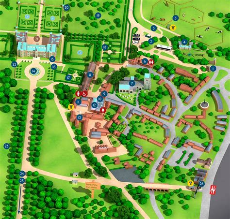hatfield house estate facilities map hatfield house