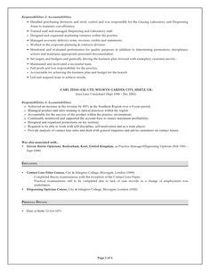 Find Optician Resumes by Free Resume For Optician Collegeconsultants X Fc2