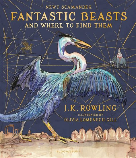 libro fantastic beasts and where exclusive first look at new illustrated edition of fantastic beasts and where to find them