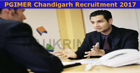 Internship In Chandigarh For Mba Students by Pgimer Chandigarh Purchase Officer 2017