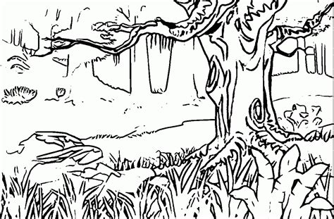 Scene Forest Coloring Pages Coloringsuite Com Frog Prince Coloring Page
