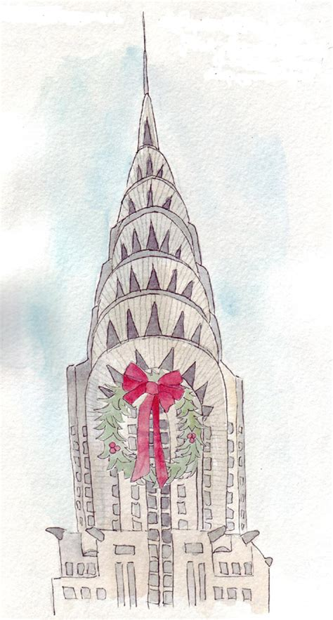 Chrysler Building Drawing by Pin Chrysler Building Drawings By Christian On