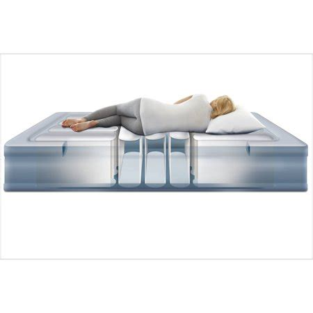 simmons beautyrest lumbar raised air bed mattre w 612650124496 ebay