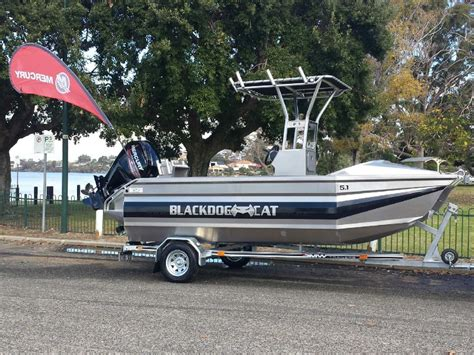 cat boats for sale wa new black dog cat 5 10 dodger centre console walkaround