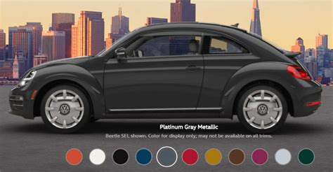 2018 vw beetle colors 2017 vw beetle colors and interior design