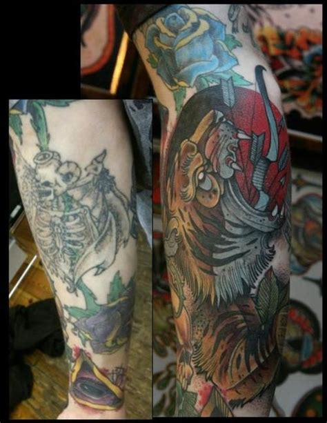 tattoo fixers mitch 48 best from bad to badass cover ups images on pinterest
