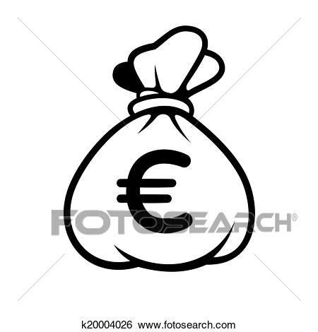 clipart soldi clip soldi icona con bag vector