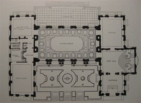 rosecliff floor plan 61 best images about gilded era mansion floor plans on