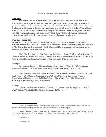 turabian outline for research paper research paper turabian style exle