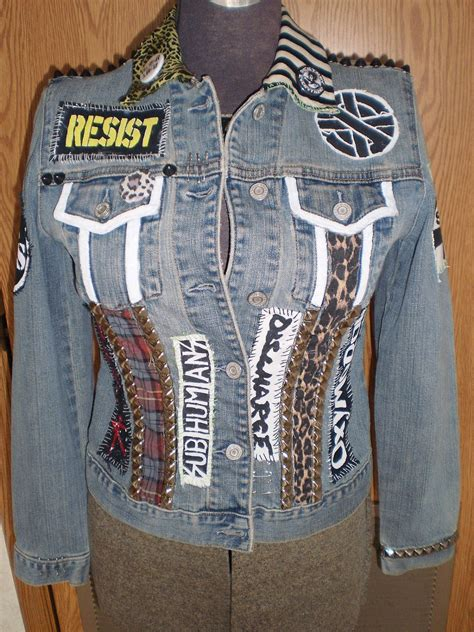 diy jackets diy studded denim jacket