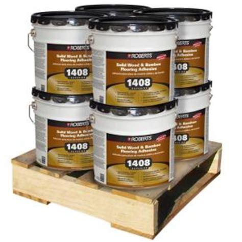4 gal urethane wood flooring adhesive 8 pallet