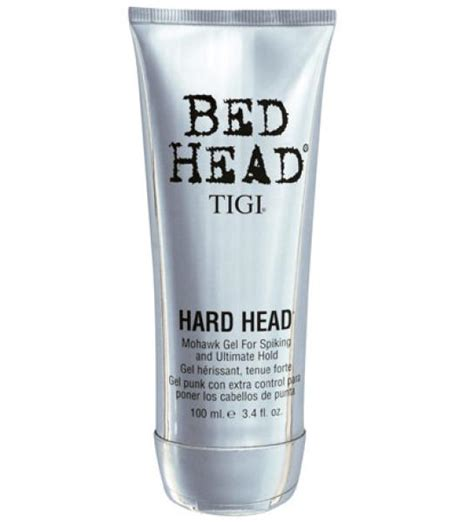 bed head reviews tigi bed head hard head mohawk gel 100ml free shipping