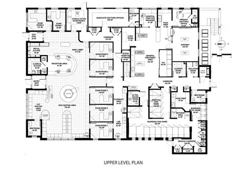 floor plan of a hospital 2016 veterinary economics hospital design people s choice