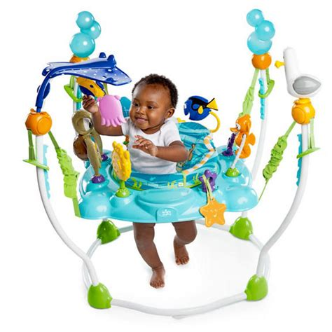 disney baby mr ray ocean and lights gym finding nemo sea of activities jumper