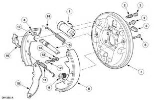 Ford Windstar Brake System Diagram 1999 Ford Windstar Rear Brakes Lock Up After Vehicle Has Been