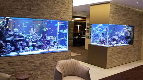 Unique Stairs mesmerizing fish tanks for your home when you see these