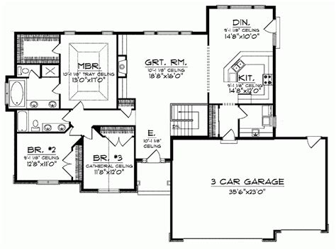 ranch floor plans monmouth county ocean county new cool open floor plans ranch homes new home plans design