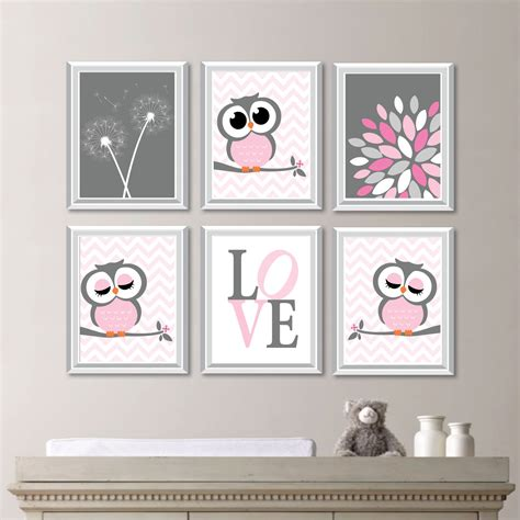 Owl Decor For Nursery Baby Nursery Nursery Decor Owl Nursery