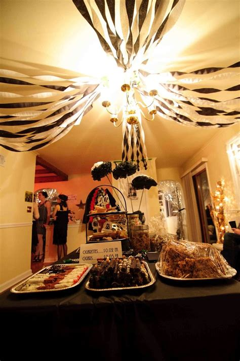 great gatsby themed decorations 52 best theme 3 great gatsby bridal shower 1920s