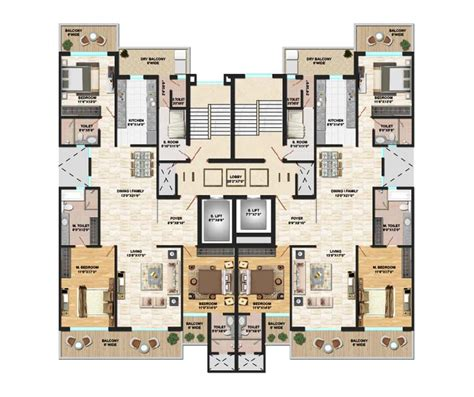 3 bhk floor plan 3 bhk apartments in mohali buy 3 bhk flats in mohali for