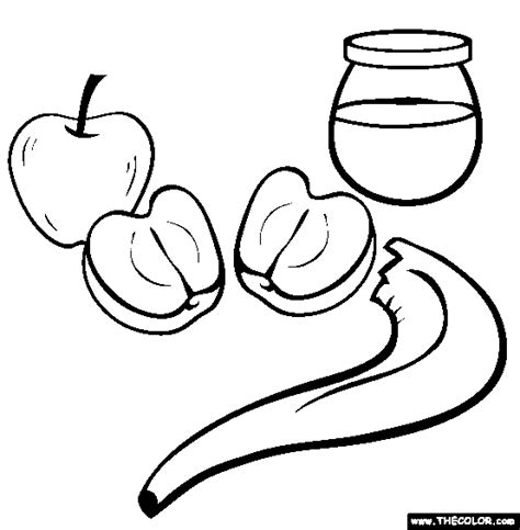 Rosh Hashanah Service Outline by Free Coloring Pages Thecolor