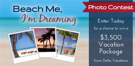 Vacation Giveaway Promotions - beach me i m dreaming vacation giveaway beachme