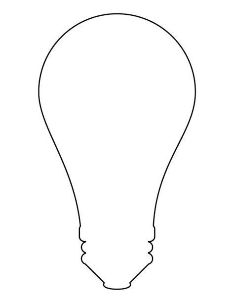 Pin By A B On Light Bulbs Pinterest Light Bulb Template