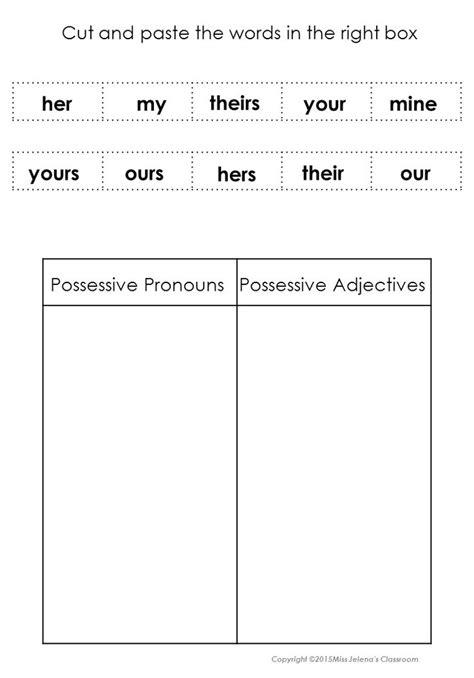 rule object pattern language subject and object pronouns possessive pronouns and