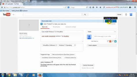 cara upload video di youtube melalui android 2 cara mudah upload atau memasukkan video ke youtube pro