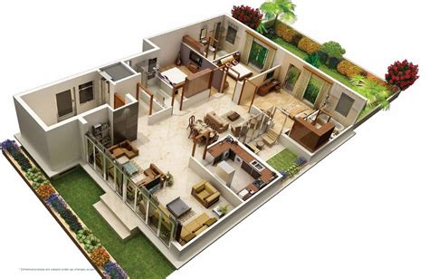 31 awesome villa floor plan 3d images plan