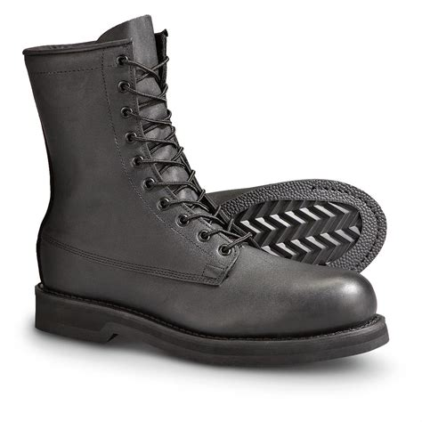 black steel toe boots for s 174 steel toe combat boots black 157344