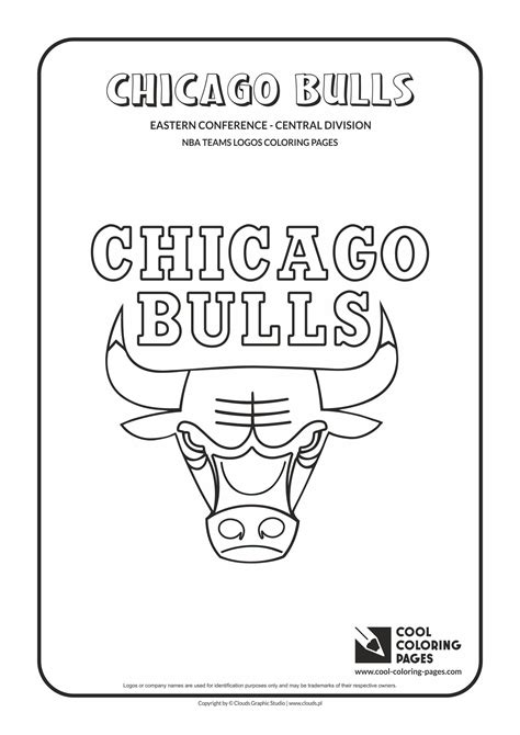 nba bulls coloring pages cool coloring pages nba teams logos chicago bulls logo