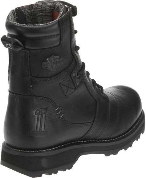 mens black motorcycle riding boots harley davidson men s jay 7 inch black motorcycle boots