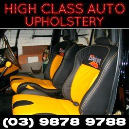 Automotive Upholstery Classes by High Class Auto Upholstery Motor Trimmers 92b