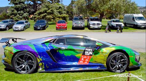 holographic lamborghini holographic chrome lamborghini aventador roadster with pur