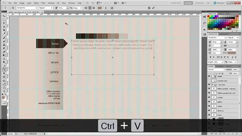 make layout on photoshop cs5 photoshop tutorial part2 how to design a professional