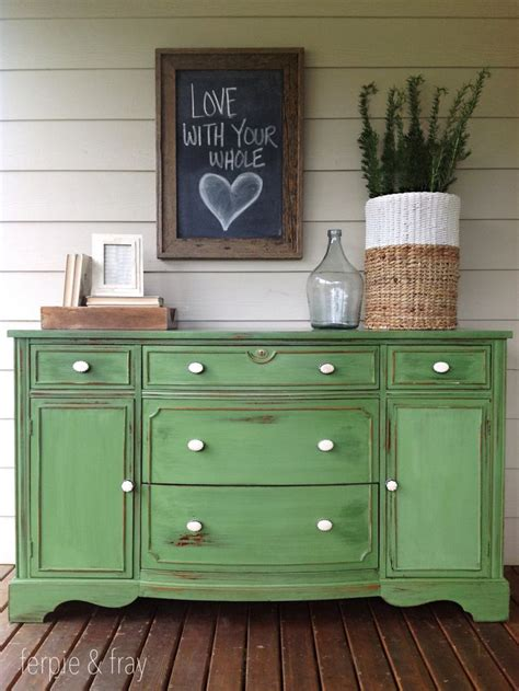 Green Furniture by 1000 Ideas About Painted Buffet On Chalk