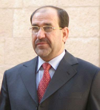 Al Malika nouri al maliki current prime minister of us occupied