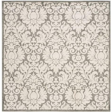square area rugs 9 x 9 safavieh amherst gray beige 9 ft x 9 ft indoor